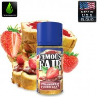 Famous Fair - Strawberry Pound Cake 100mL