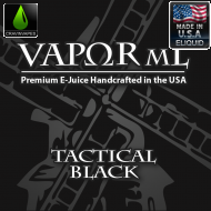 Tactical Black by Vapor mL